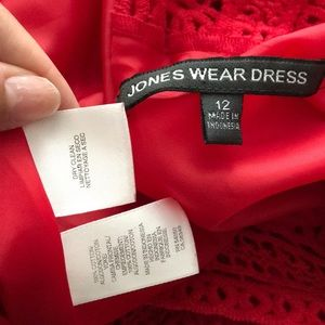 Jones Wear Dresses - Crochet Sleeveless Fit Flare Layered Circle Casual